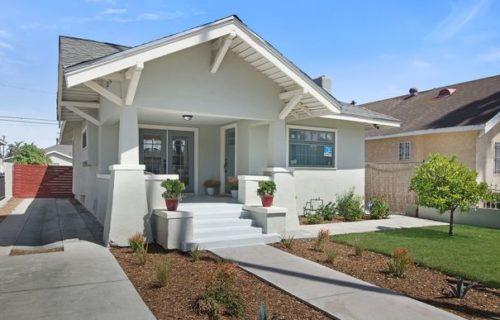 Craftsman-Inspired California Bungalow